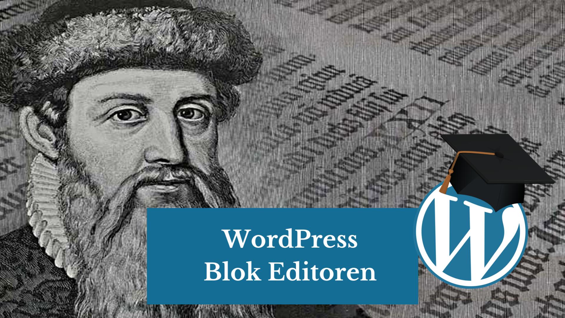WordPress Blok Editoren